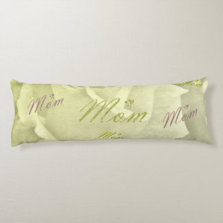 mom and roses body pillow