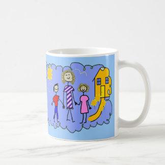 Mom and Us, Going for a Walk Coffee Mug