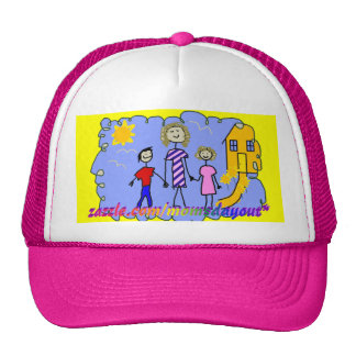 Mom and Us, Going for a Walk Trucker Hat