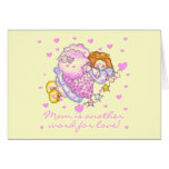 Mom Another Word For Love T-shirts and Gifts Greeting Card