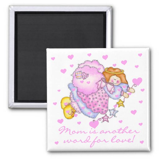 Mom Another Word For Love T-shirts and Gifts Magnets
