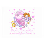 Mom Another Word For Love T-shirts and Gifts Postcard