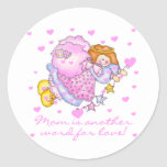 Mom Another Word For Love T-shirts and Gifts Classic Round Sticker