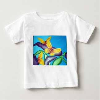 MOM'S & MY COLLABORATIVE ART WORK BUTTERF Baby T-Shirt