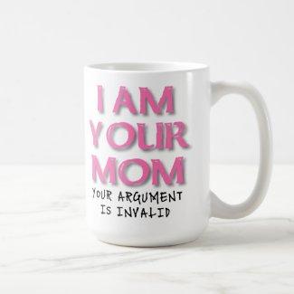 Mom Argument Is Invalid Funny Mug