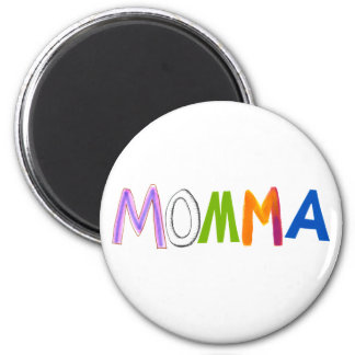 Mom art momma mommy mother fun colorful refrigerator magnet