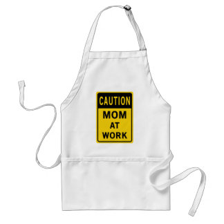 Mom At Work Apron