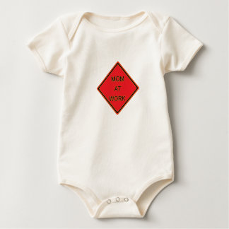 mom at work baby bodysuit