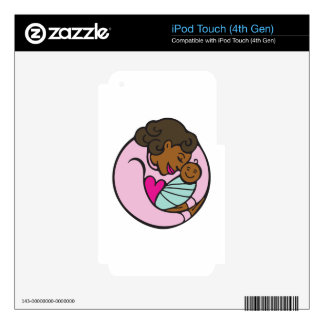 Mom & Baby Decal For iPod Touch 4G