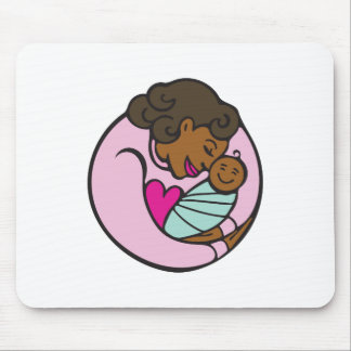 Mom & Baby Mouse Pad