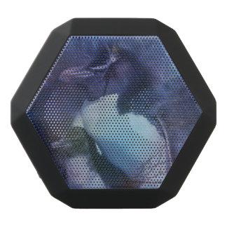 Mom & Baby Penguin in Moonlight Black Bluetooth Speaker