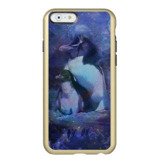 Mom & Baby Penguin in Moonlight Incipio Feather® Shine iPhone 6 Case