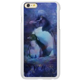 Mom & Baby Penguin in Moonlight Incipio Feather® Shine iPhone 6 Plus Case