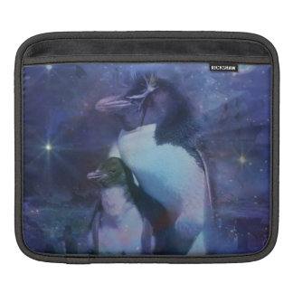 Mom & Baby Penguin in Moonlight Sleeve For iPads