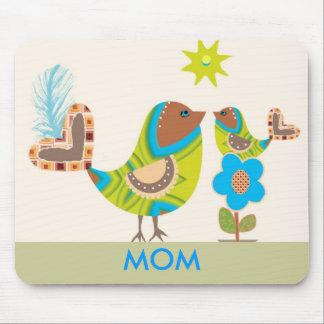 Mom Bird Mouse Pad