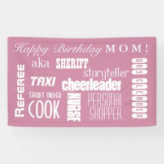 Mom Birthday Banner