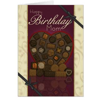 Mom Birthday Card - Chocolates