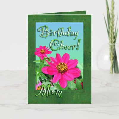 ... birthday card design shout out birthday cheer for m