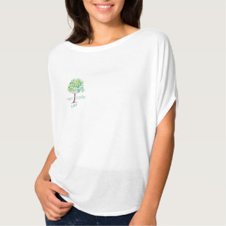 Mom Body Spirit Flowing Short-Sleeve Top Tees