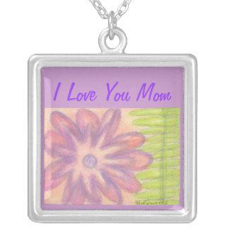 Mom Botanical Necklace, Mom Jewelry with Botanical