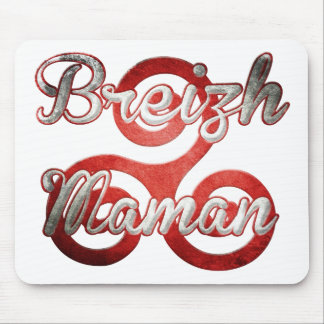mom Brittany Breizh Mouse Pad