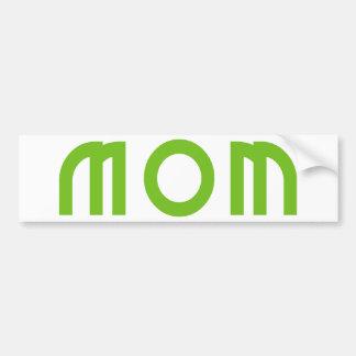 Mom Car Bumper Sticker