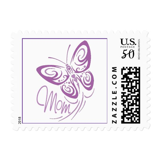 Mom Butterfly Postage