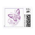 Mom Butterfly Postage Stamps