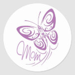 Mom Butterfly Stickers
