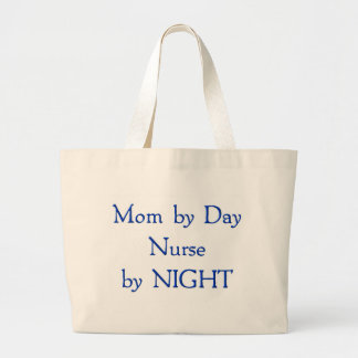 Mom by Day Jumbo Tote Bag