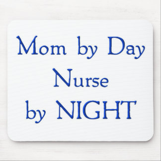 Mom by Day Mouse Pad