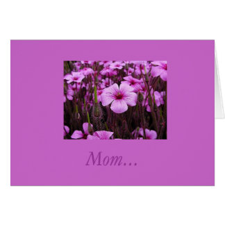 Mom... Card