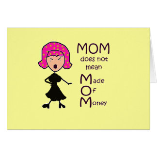 mom stationery note card