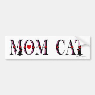 Mom Cat Bumper Sticker