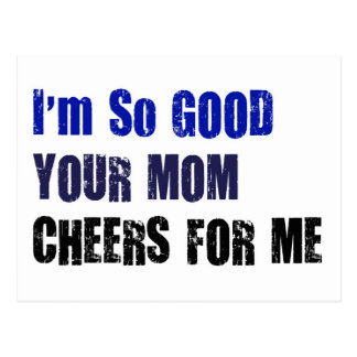 Mom Cheers Postcards