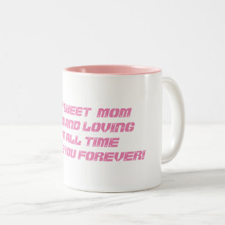 Mom classic two-tone mug