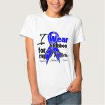 Mom- Colon Cancer Ribbon T-Shirt