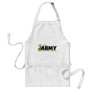 Mom Combat Boots - ARMY Adult Apron
