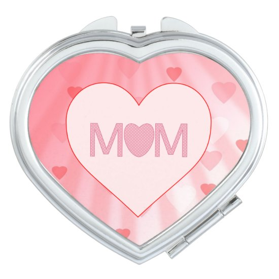 """Mom"" Compact Mirror"