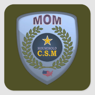 MOM CSM SQUARE STICKER