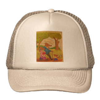 mom, dad and bear show all you need is love trucker hat