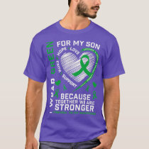 Mom Dad Father Mother Gifts Son Cerebral Palsy T-Shirt