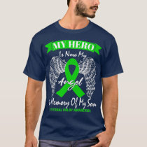 Mom Dad Green In Memory Of My Son Cerebral Palsy T-Shirt
