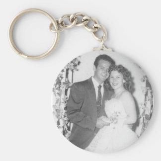 Mom&Dad Llavero Redondo Tipo Pin