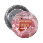 Mom Dad's Name Baby Girl buttons Baby Girls Name