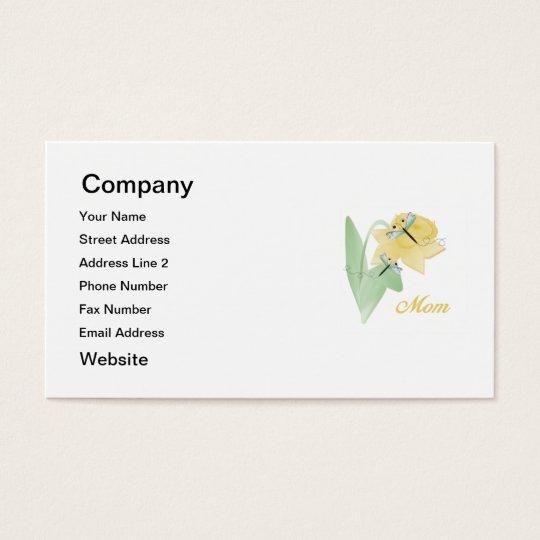 Mom (daffodil) business card