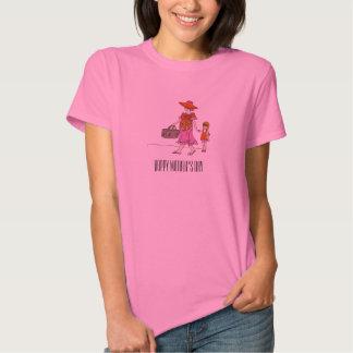 Mom Daughter Picnic Shirts