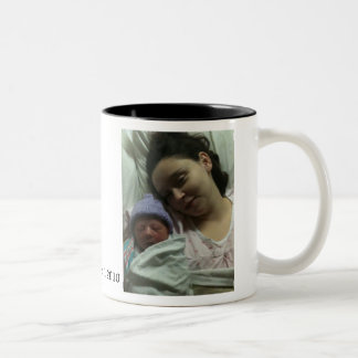 Mom & Daughter Two-Tone Coffee Mug