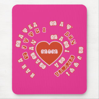Mom Different Languages (Mother's Day & Birthday) Mouse Pad