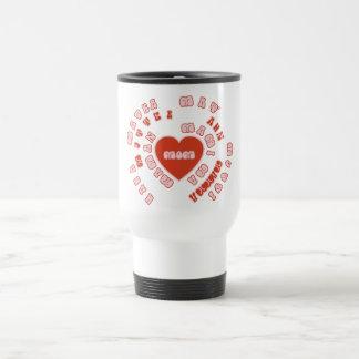 Mom Different Languages (Mother's Day & Birthday) Travel Mug